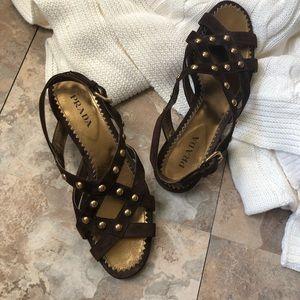 d549f3955bb Women s Prada Gladiator Sandals on Poshmark